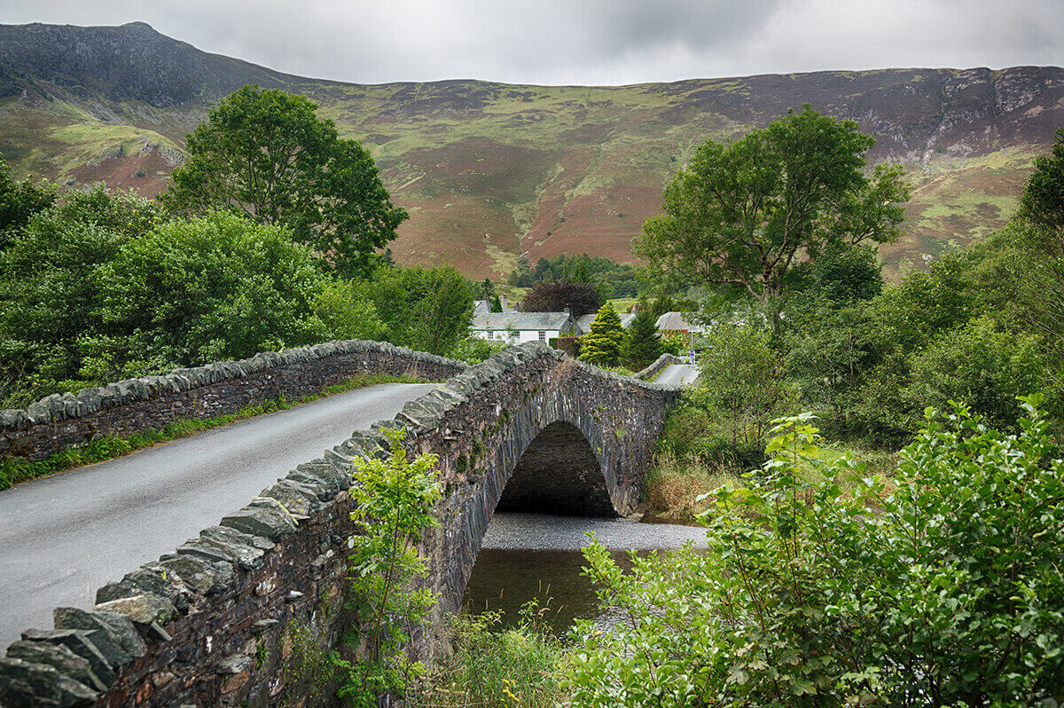 bridge in lake district
