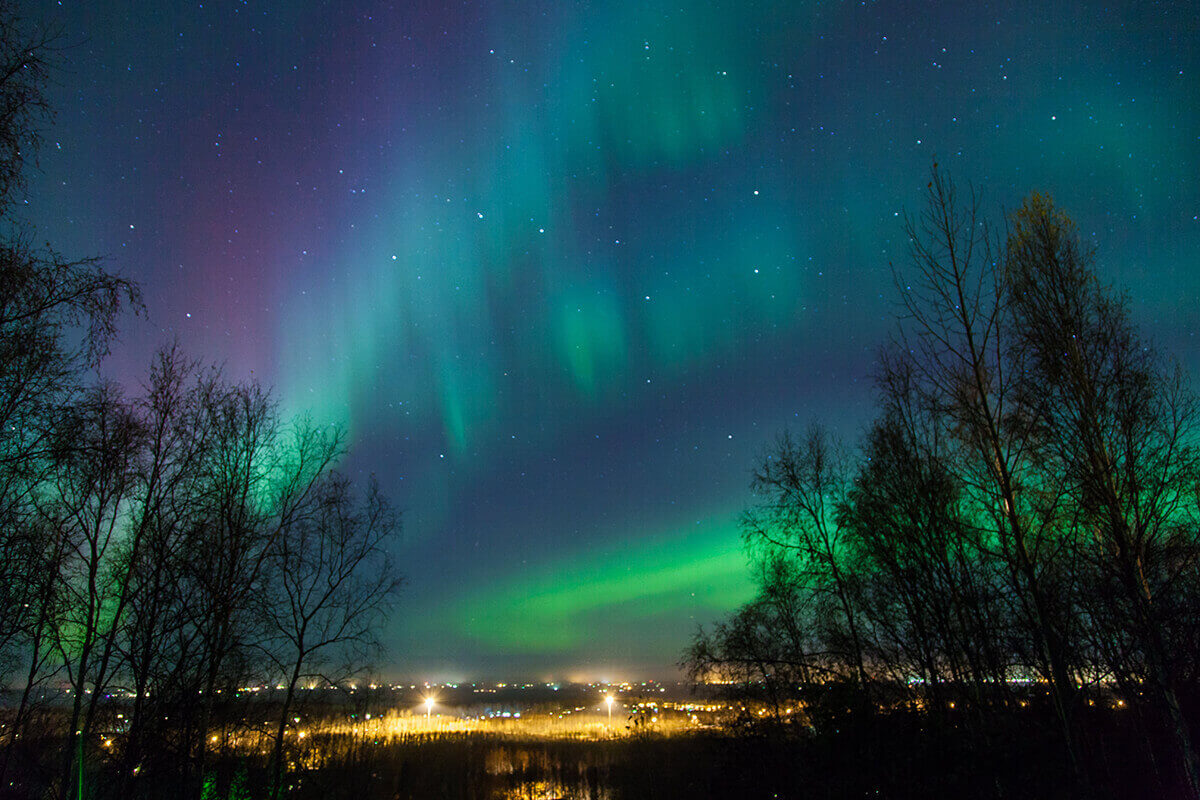 Northern Lights Iceland romantic