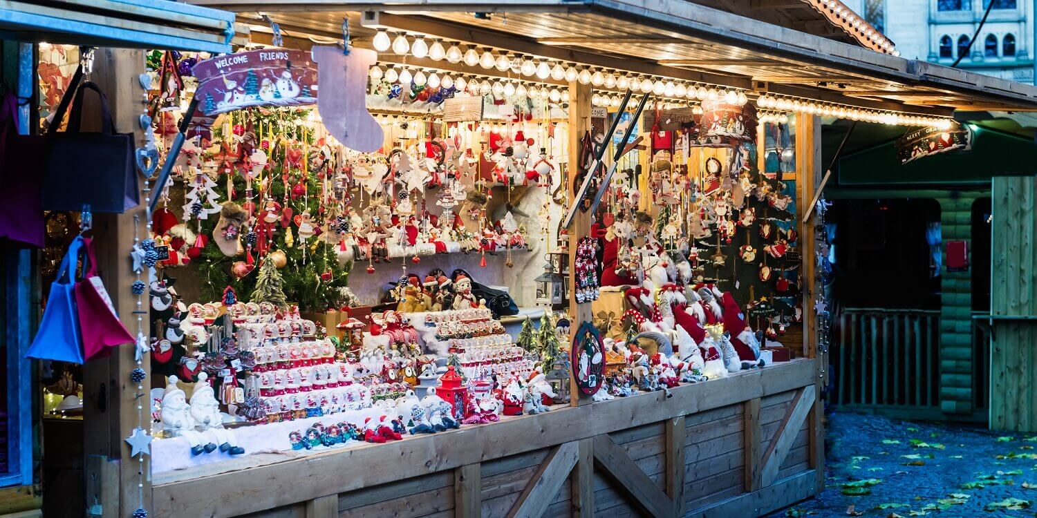 Manchester Christmas Market stall